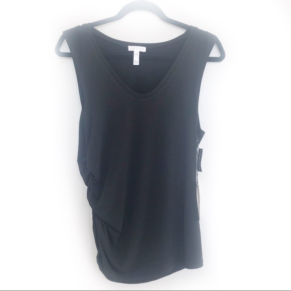 Leith Tops - Leith brand new ruched tank!